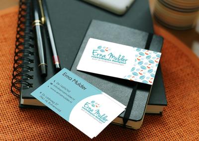 Logo en visitekaartjes Erna Mulder