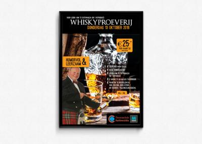 Poster Whisky proeverij