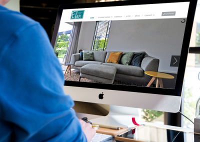 Website Interieurstudio Elan