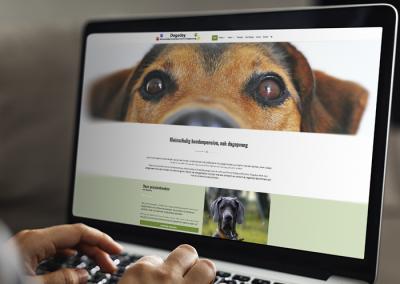 Website en webshop Dogsday
